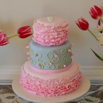 Sensational Shabby Chic Birthday Cake Personalised Birthday Cards Cominlily Jamesorg