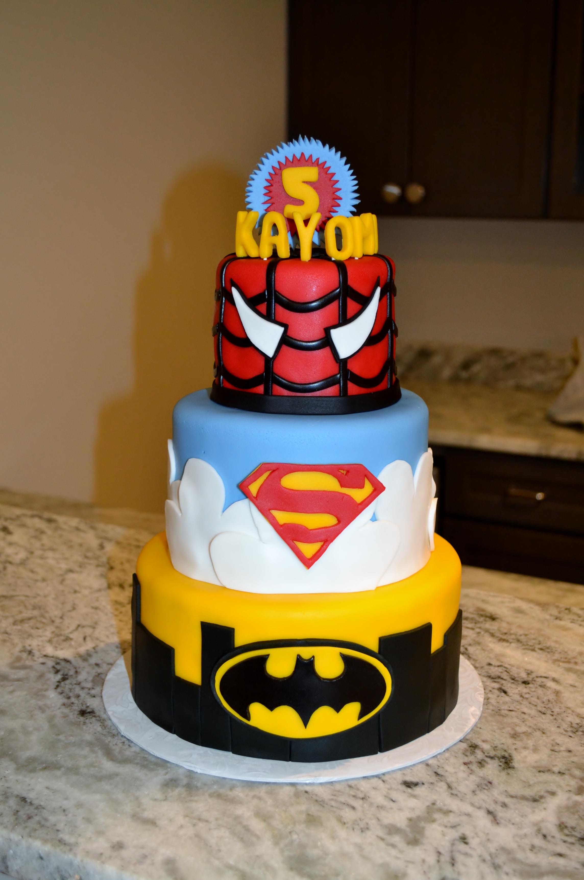 Superhero Cake Ii