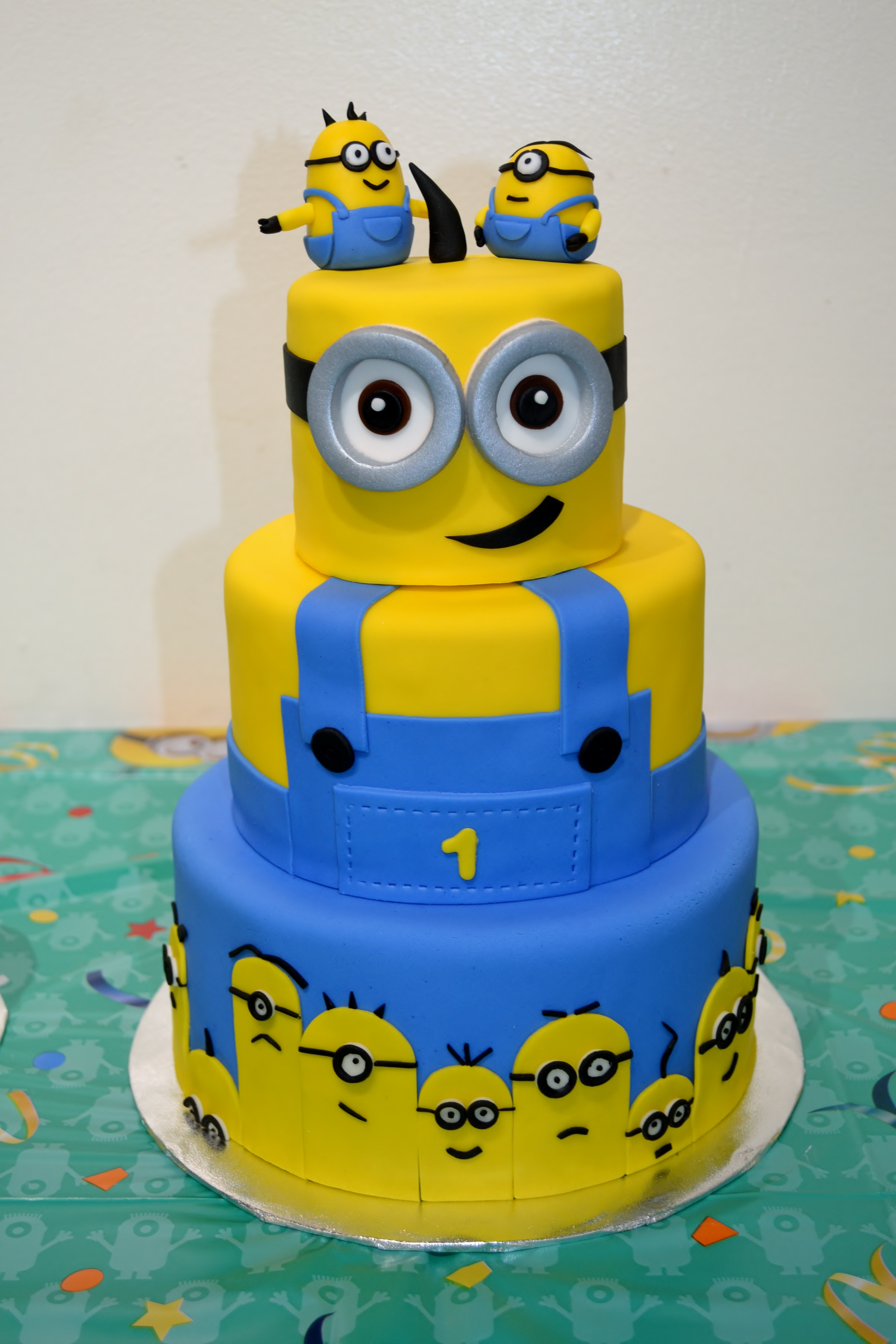 Images For Minions Birthday Cake : Minion Cake II