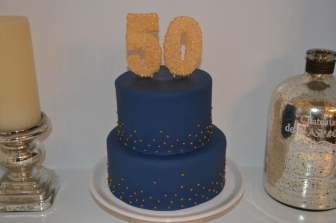50th Birthday Cake