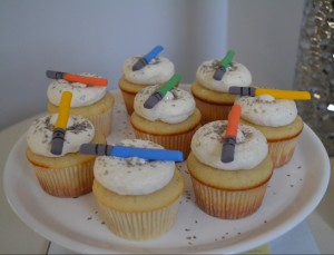 light saber cupcakes 2