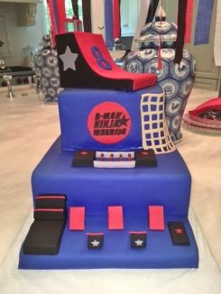 ninja warrior cake