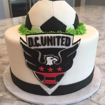 Sports Cake Slimer DC United
