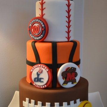 It Takes The Cake Custom Cakes Washington DC Metro Area
